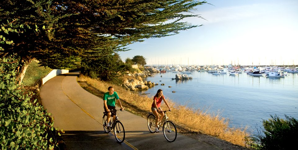 Bike Trail in Monterey