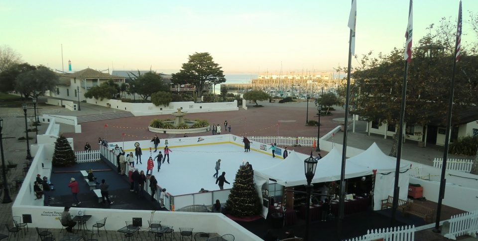 Ice Skating Rink in Monterey
