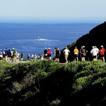 Big Sur Marathon cliff running mm37