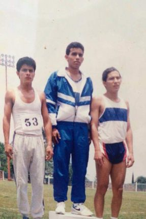 3rd place 400 meters state Morelos 1992