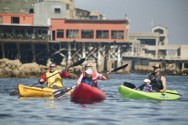Adventures by the Sea Kayaks