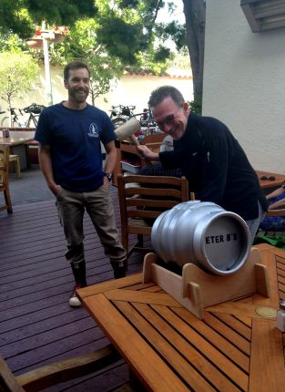 Cask Tapping with Chef Moonen