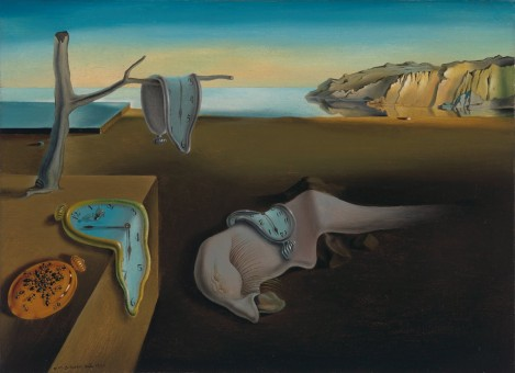 Dali painting Persistence of Time (original is in NYC)