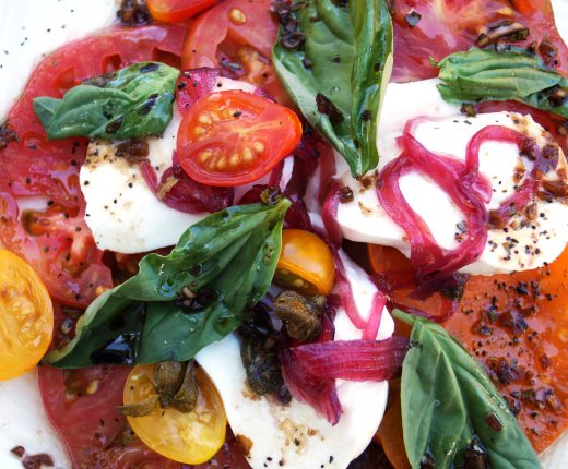 Heirloom Tomatoe Salad 4