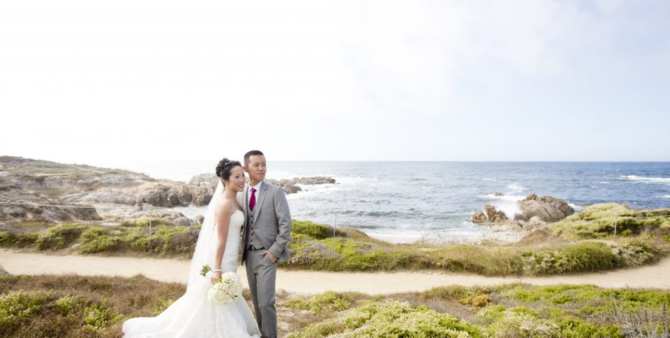wedding in Monterey