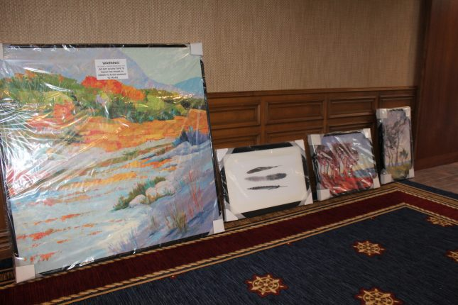 Art Pieces Arriving on Property at Portola Hotel