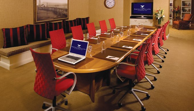 Executive Boardroom at Portola Hotel & Spa