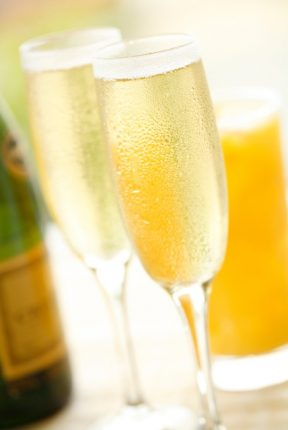Complimentary Mimosa from Portola Hotle & Spa on Mother's Day