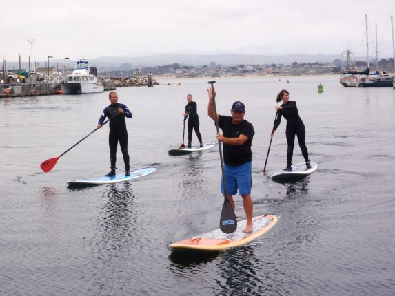 Stand Up Paddle Boarding by Adventures by the Sea