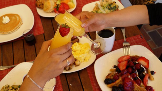 Bottomless Mimosas and Brunch from The Club Room