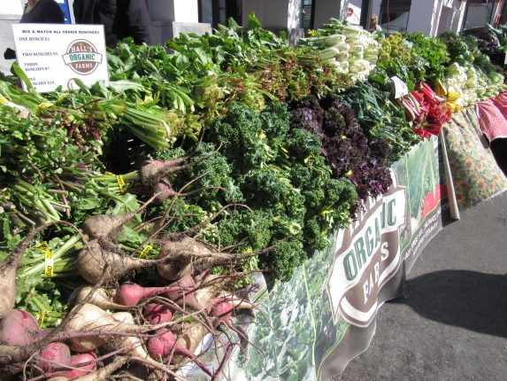 Fresh Local Produce at Farmers Market