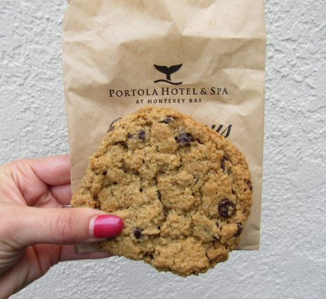 Chocolate Chip Cookies from Portola Hotel & Spa