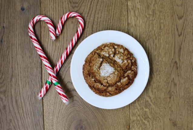 Portola's Ginger Molasses Cookie