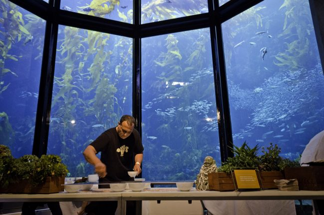 Danny Abbruzzese-Cooking For Solutions Event at the Monterey Bay Aquarium