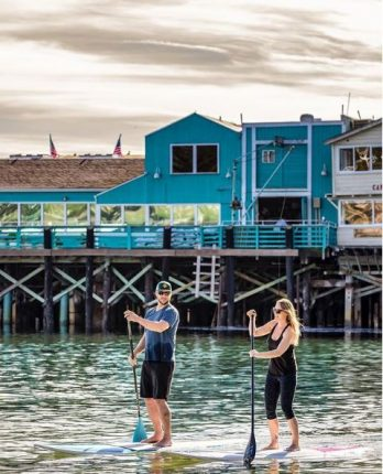 Stand Up Paddle Boarding in Monterey
