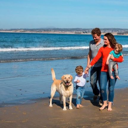 Family fun in Monterey