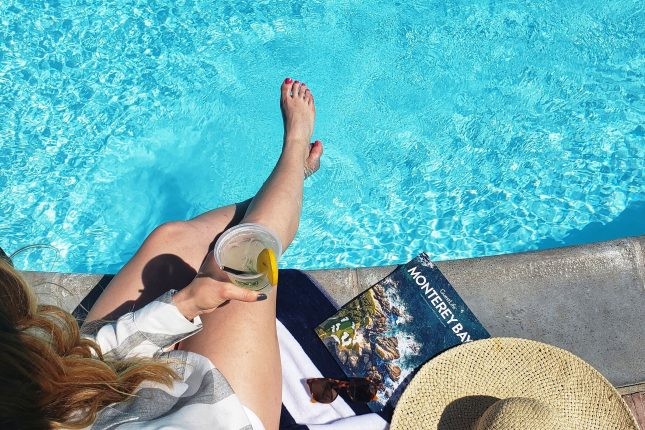 Summer at the Portola Hotel's Pool