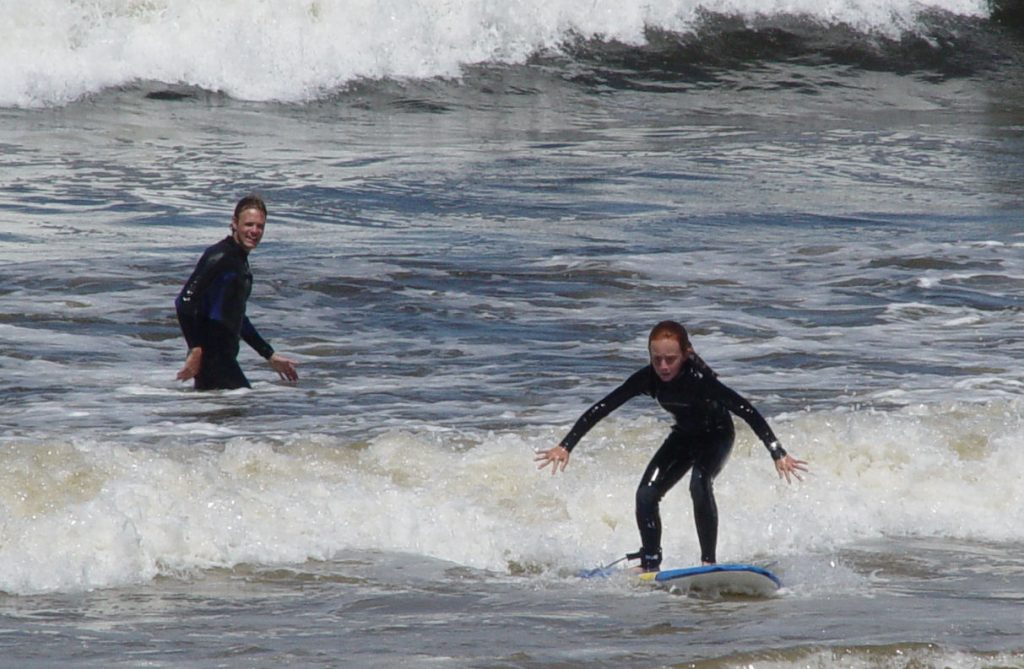 Adventure on the waves Surf Lessons in Monterey County