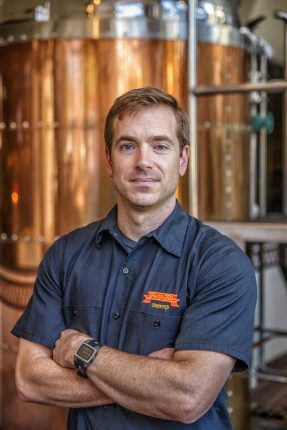 Former Head Brewer at Peter B's, Kevin Clark