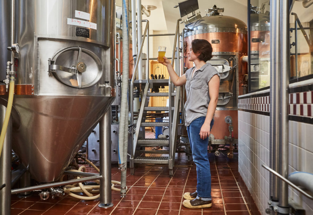 Natalie Mika joins the Peter B's team as Assistant Brewer