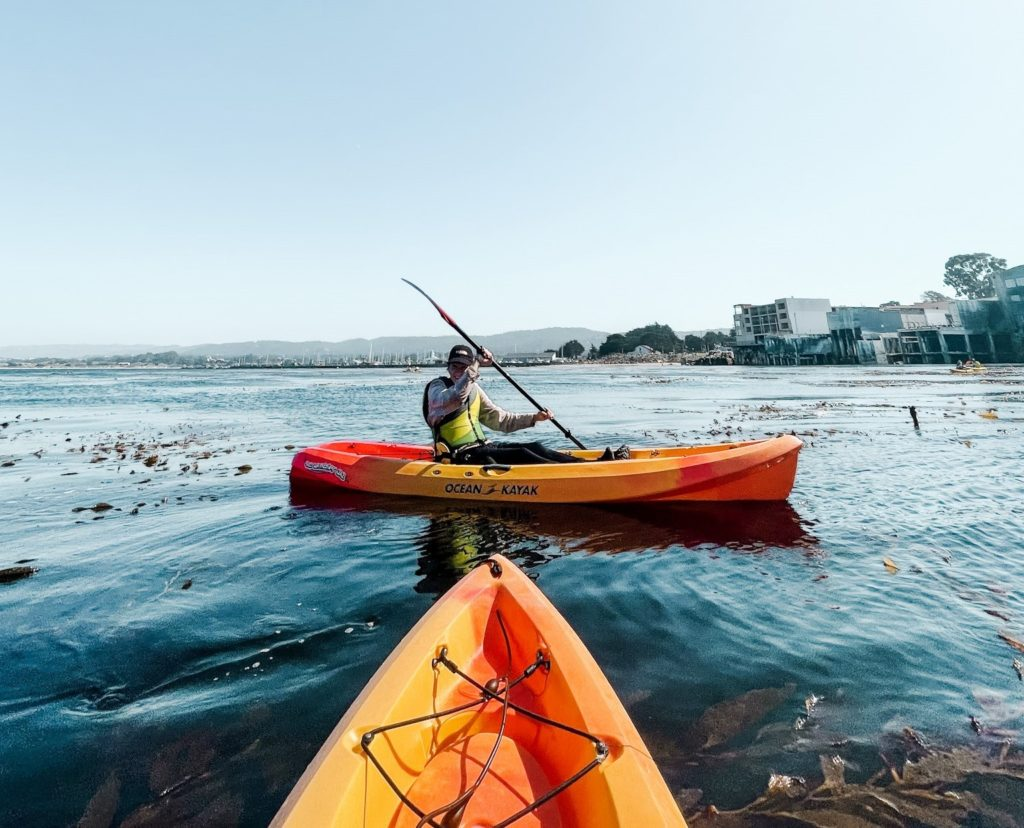 Kayaking from Adventures by the Sea in Monterey